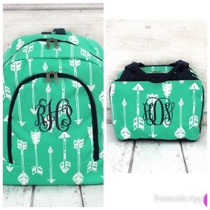 BACK TO SCHOOL Backpack & Insulated lunch Bag set